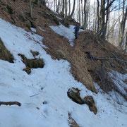 Passaggi con neve .....