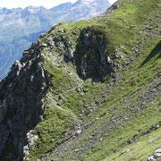 Sentieri per il Passo Bareta