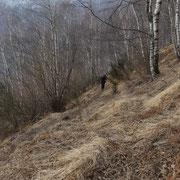 Salita da l'Agher al Monte Faierone