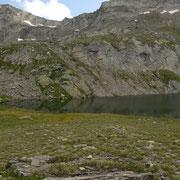 Lago Pécian 2323 m, panoramica