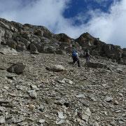 Beverin Lücke 2826 m