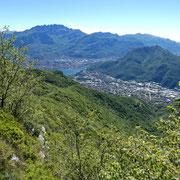 Panorama dal Sasso Malascarpa