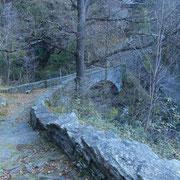 Ponte romano sotto la Capela da la Pioda
