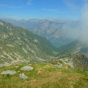 Verso Orgnana (Alpe) e la Valla Verzasca