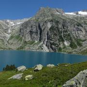 In fondo al lago, il Gelmer