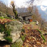 Monti di Vatiscio 1087 m