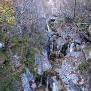 Torrente Duslinn dal Ponte di Bizzo 600 m