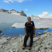 Chüebodengletscher e laghetto al Gerenpass 2671 m