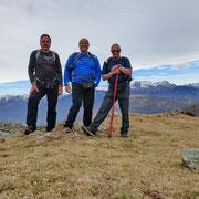 Cima senza nome 1168 m