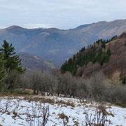 Verso il Monte Bar e Gazzirola
