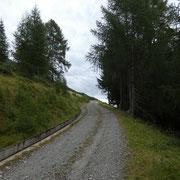 Sulla strada tra Monte Angone e Grasso Vecchio a 1800 m