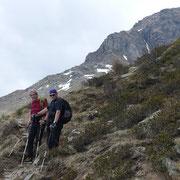 Discesa all'Alpe di Gagèrn