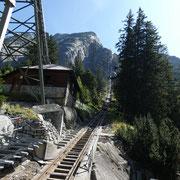 Gelmerbahn, pendenza fino a 106%