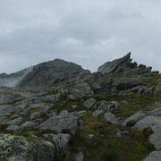 In cresta verso il Mittaghorn