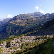 Verso le Alpi di Calvaresc