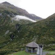 Da Mätteli 1720 m verso l'imbocco di Guspis