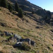 Salita all'Alpe di Chièra