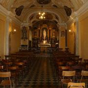 La chiesa sul Monte Bisbino