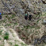 Sul sentiero per l'Alpe Pianone