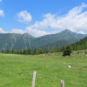 Arrivati all'Alpe della Costa 1611 m