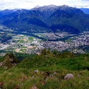 Panorama dal Pizzo di Corgella