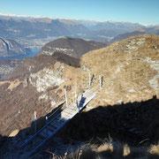 Via ferrata sul Baraghetto