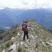 Scendiamo all'Alpe di Martum