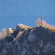 La cima del Sasso di Mont