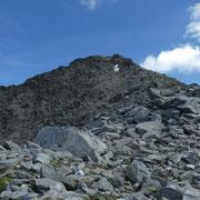 Piz Lai Blau dalla Fuorcla dil Lai Blau 2855 m