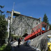 Handegg 1378 m, Gelmerbahn