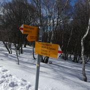 Seguiamo il sentiero che scende all'Alpe di Piero