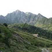Alpe di Cadinello 1828 m e Corno di Gesero