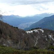 Scendiamo all'Alpe di Motto