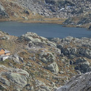 Capanna Leit e Lago Campolungo
