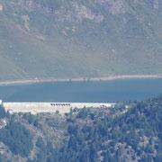 Lago Ritom dall'altra parte della valle