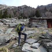 Alpe Garerescio 1783 m (Rifugio)