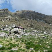 Alpe Albagno 1867 m e Bocchetta d'Albagno