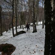 Aumenta lo spessore della neve ......