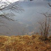 Strapiombo verso la Valle Cannobina
