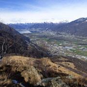 Panorama verso Locarno ......
