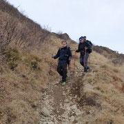 Proseguiamo in discesa per i Monti di Breglia