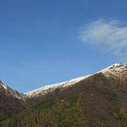 Monte Lema e Poncione di Breno visti da Breno 801 m