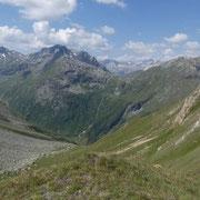 Arrivati all'Areuapass 2509 m