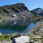 Bocchetta della Miniera 2525 m e Laghetto della Miniera