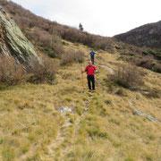 Discesa all'Alpe Poltrinone