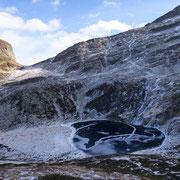 Lagh de Trescolmen 2025 m e Bocchetta de Trescolmen