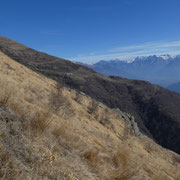 Verso l'Alpe Rescascia
