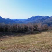 Alpe Vicania 659 m (vista verso Sud)