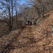 Scesi dal Monte della Colonna ci rechiamo a San Martino in Culmine
