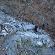 Sul sentiero per l'Alpe Foppiana